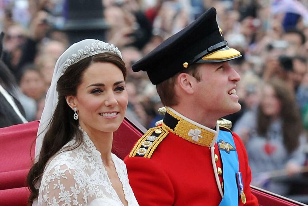 JUBILEUM: Hertuginne Kate og prins William giftet seg 29. april 2011 i Westminster Abbey i London. Foto: NTB.