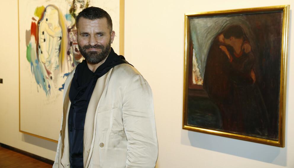 TJENER MILLIONER: Bjarne Melgaard er kjent for sine uttrykksfulle og provoserende malerier, installasjoner, foto og videoverk. Foto: Cornelius Poppe / NTB