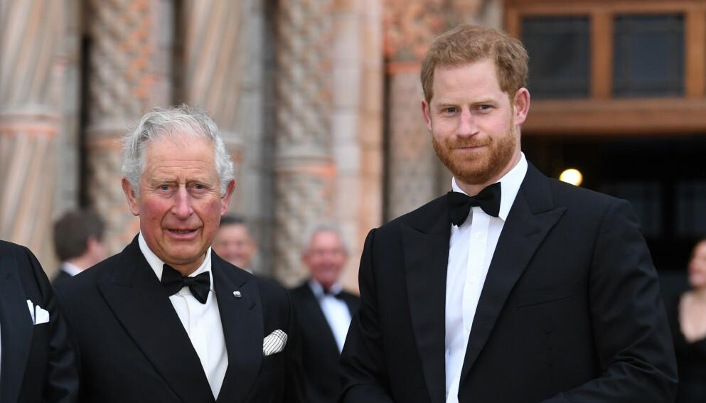 TRIST: Prins Charles skal være knust over å ha vært borte fra familien. Foto: Doug Peters/Empics/NTB