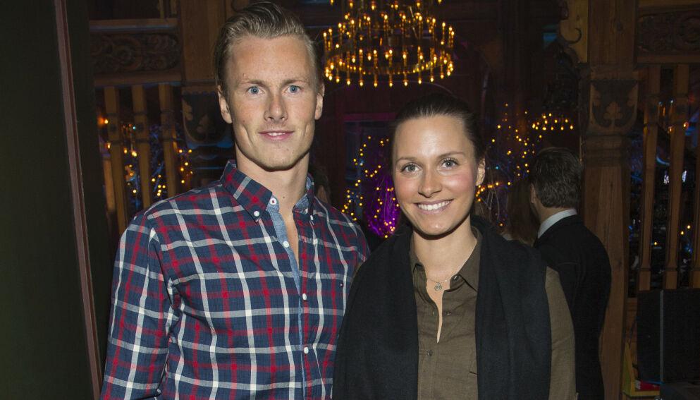 TOBARNSFORELDRE: Anja Johansen og Lavrans Solli har to barn, men kunne gjerne tenkt seg et tredje. Slik blir det imidlertid ikke. Foto: Tor Lindseth / Se og Hør