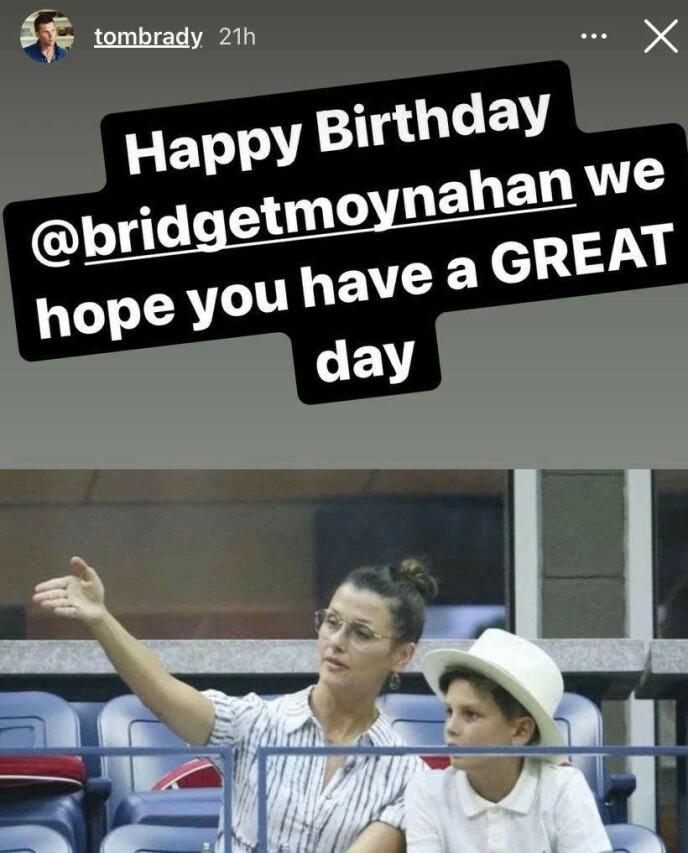 Foto: Grab fra Tom Bradys Instagram