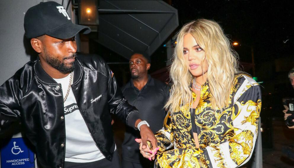 SKANDALER: Tristan Thompson og Khloé Kardashians forhold har hatt flere opp- og nedturer. Foto: Shutterstock Editorial / NTB