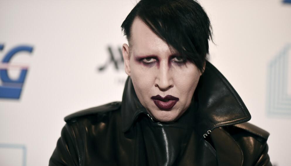 SAKSØKES: Nok en kvinne går hardt ut mot Marilyn Manson. Foto: Richard Shotwell/Invision/AP/NTB