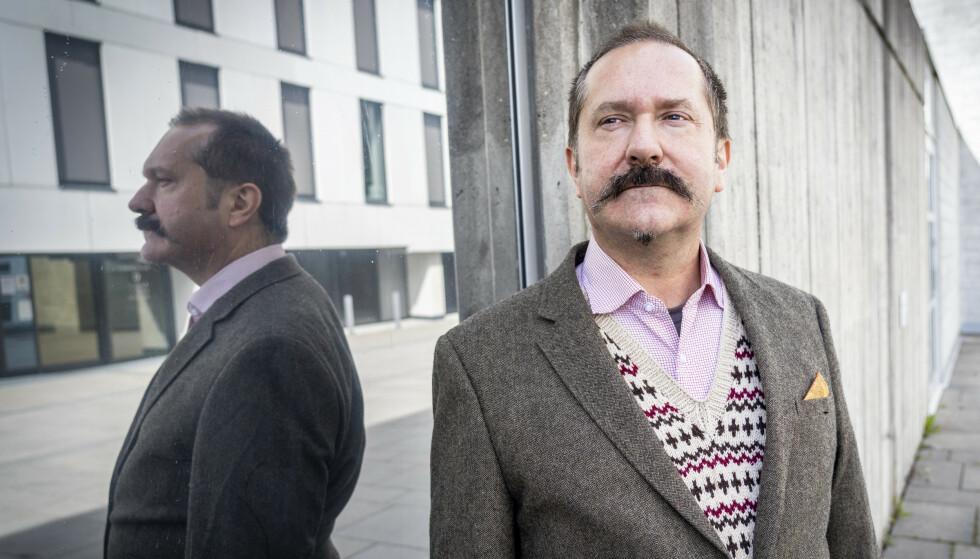 - TUNISISK HUMOR?: John Færseth sier det er vanskelig å vite hvordan programmet ble tatt imot i Tunisia. Foto: Ole Berg-Rusten / NTB