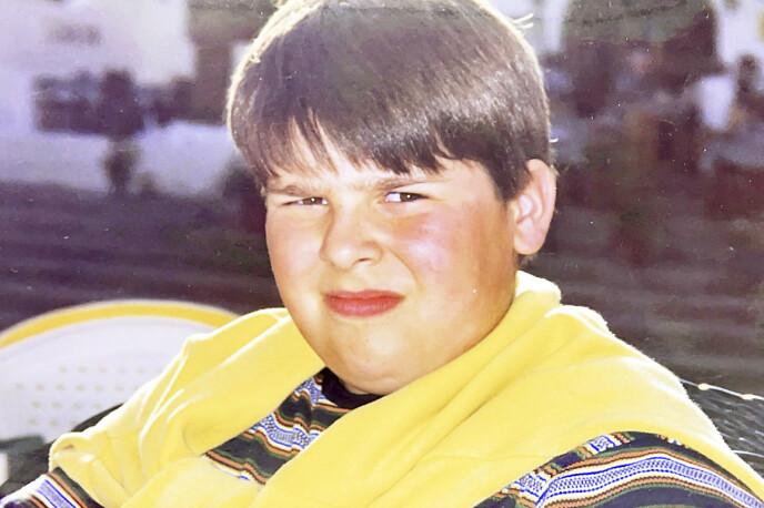 MOBBET: Kim var en skoleflink perfeksjonist som alltid gjorde sitt beste. Men han var også overvektig, og mobbingen i barneårene har satt varige spor. Foto: Privat