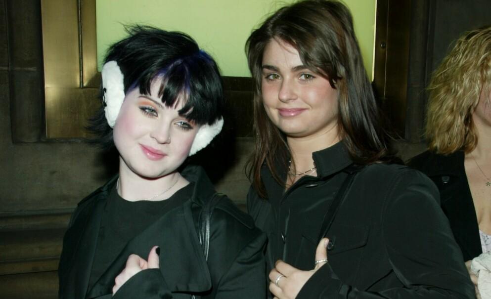 SØSTRE: Kelly og Aimee Osbourne er søstre, men har ikke noe nært forhold av den grunn. Foto : Matt Baron / BEI / REX / NTB