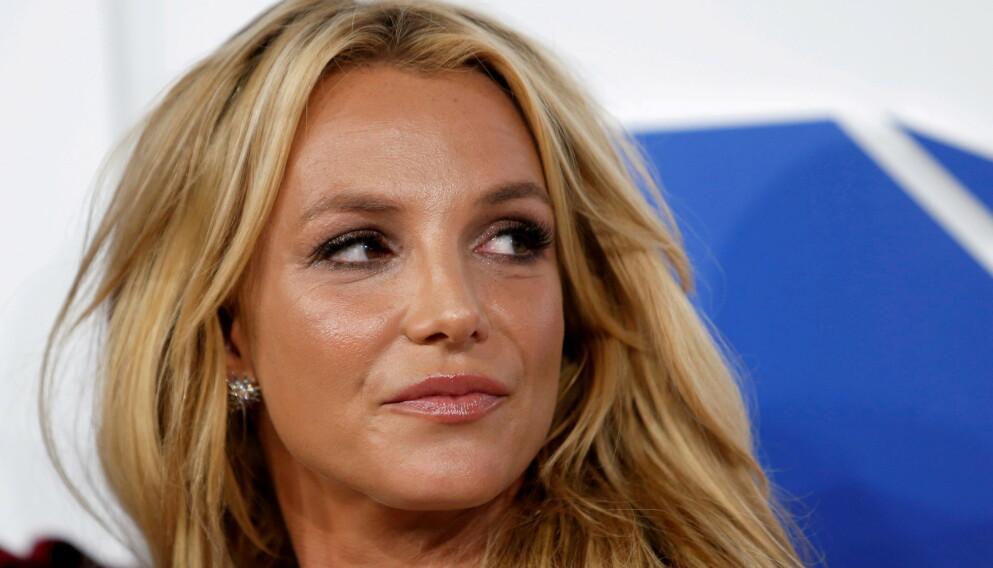TRAUMATISERT: Det er ingen hemmelighet at de siste 13 årene har vært vanskelige for Britney. Forrige uke snakket hun ut for første gang i en rettshøring. Foto: Eduardo Munoz / Reuters / NTB