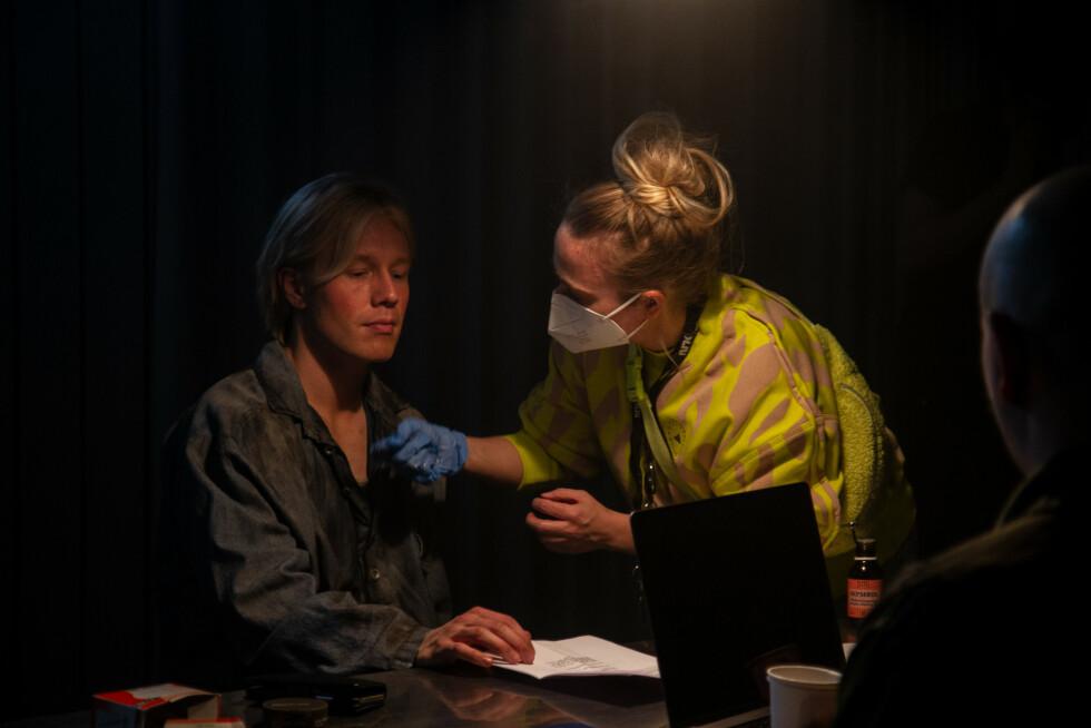 TILBAKE: Den sossete karakteren Preben Lohrengren er med også i sesong to av «Førstegangstjenesten». Foto: Adele Gyllenhammar / NRK.