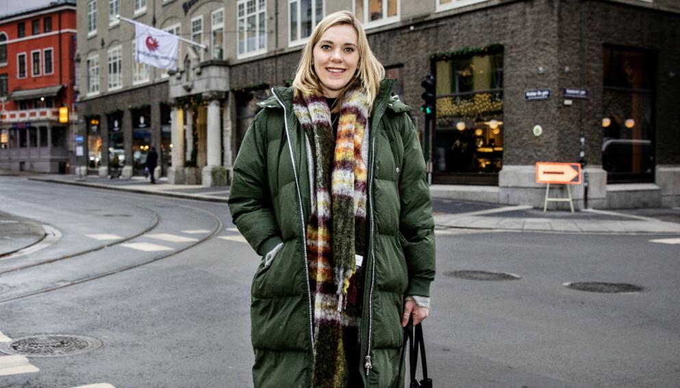 SKJULTE GRAVIDITETEN: «Luksusfellen»-Lene fikk noen ekstra utfordringer som gravid under innspilling. Foto: Nina Hansen / Dagbladet