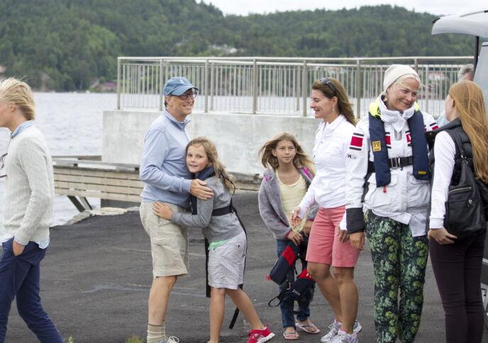 NORGESBESØK: I 2013 besøkte Bill og Melinda Gates deler av den norske kongefamilien i Kristiansand. Foto: Tor Erik Schrøder / NTB