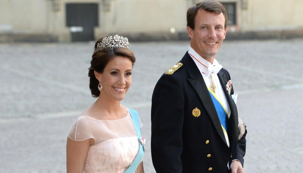 KOMMER IKKE: Prinsesse Marie og prins Joachim har meldt avbud til nevøens konfirmasjon. Foto: Tim Rooke / REX / NTB