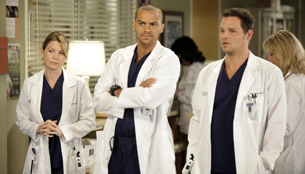 FERDIG: Jesse Williams slutter i den populære sykehusserien. Der har han spilt siden seriens sjette sesong. Foto: Abc-Tv / Kobal / REX / NTB