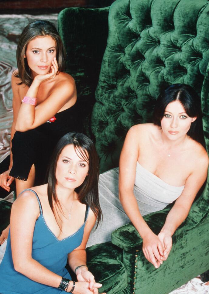 1998: Her er de tre hovedpersonene avbildet sammen. Foto: Frank Ockenfels / REX / NTB