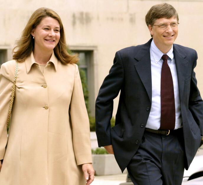 IKKE SPONTAN: Det var på hengende håret at Bill fikk en date med Melinda. Hun mente nemlig at han ikke var spontan nok. Foto: REUTERS / NTB