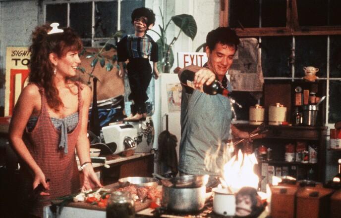 1984: Tawny Kitaen spilte mot Tom Hanks i 1984. Foto: Shutterstock / FOX / NTB