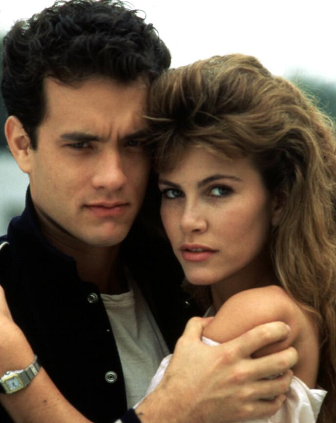 DØD: Tawny Kitaen ble 59 år gammel. Her med Tom Hanks i 1984. Foto: Everett Collection / NTB
