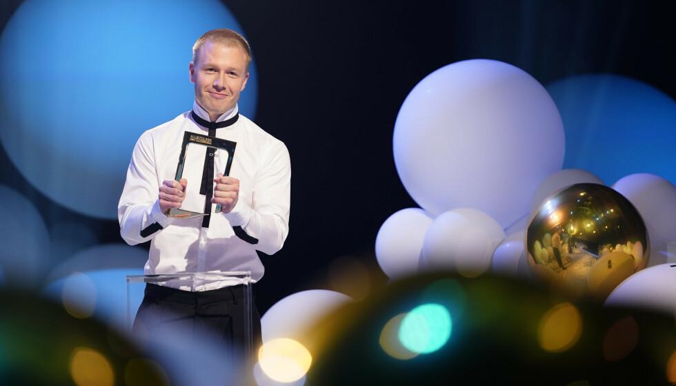 VINNER: Beste humorprogram gikk til «Førstegangstjenesten» Foto: Espen Solli/TV 2