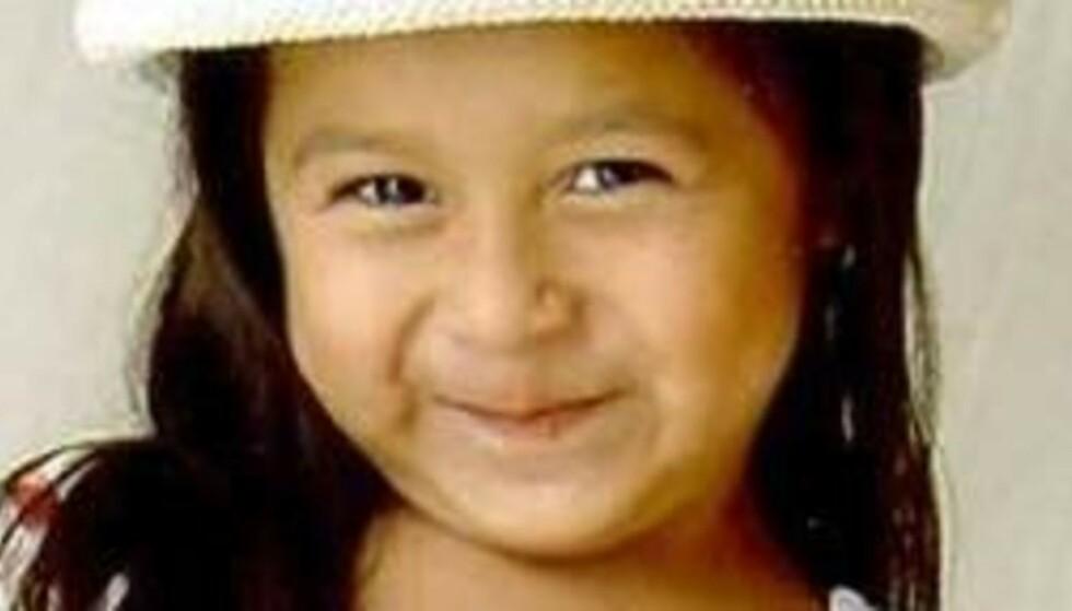 SPORLØST FORSVUNNET: Sofia Juarez forsvant dagen før hun fylte fem år. Foto: Kennewick Police Department.