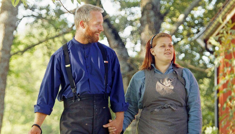 SLUTT: Andreas og Maren har gått hver til sitt etter åtte års ekteskap. Foto: Oddvar Walle Jensen