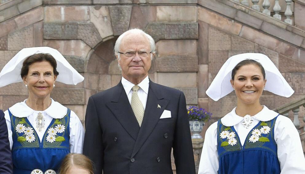 GAMMEL SKANDALE: Kong Carl Gustaf fikk massiv kritikk for fire år siden. Nå har skandalen fått nytt liv. Foto: Jonas Ekströmer/TT / NTB