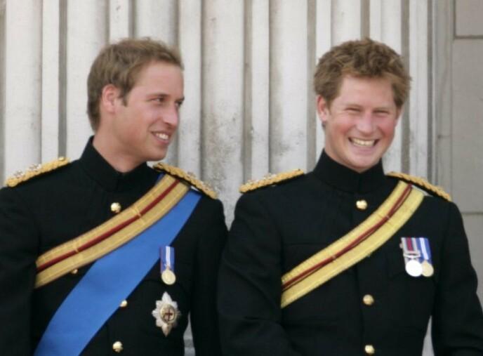 DEN GANG DA: William og Harry har tidligere hatt et nært forhold. Her avbildet i 2008. Foto: REX / NTB