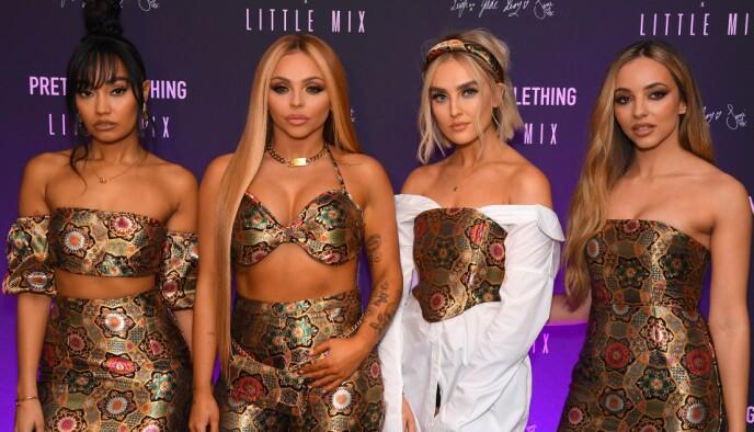 POPSTJERNER: Jentegruppa Little Mix består av (f.v) Leigh-Anne Pinnock, Jessy Nelson, Perrie Edwards og Jade Thirwell. Foto: David Fisher/Shutterstock
