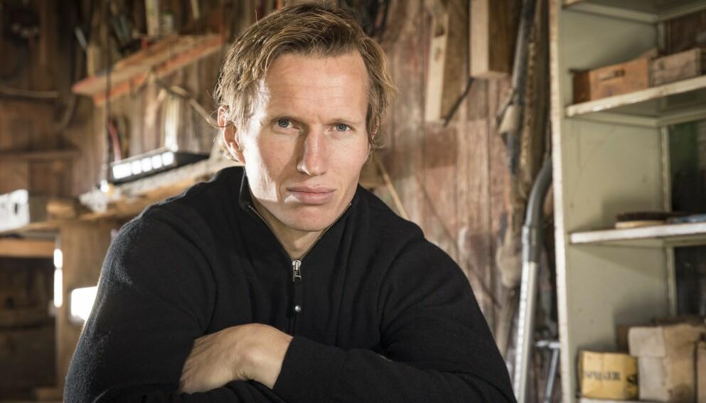 TIL TOPPS: Frank Løke har nådd toppen av Mount Everest. Foto: Tor Lindseth/ Se og Hør