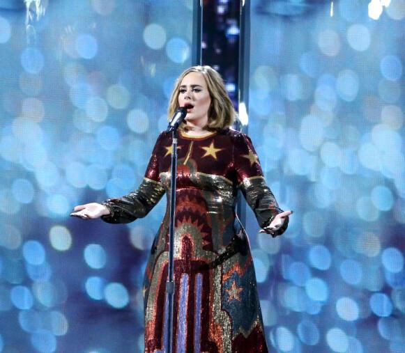 STOR STJERNE: Den britiske artisten Adele har gjort stor suksess på musikkfronten. Foto: Richard Young / REX