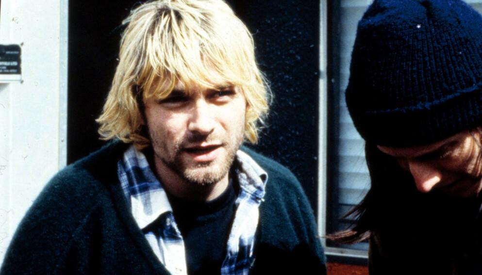 BLE BARE 27: Kurt Cobain, Nirvanas frontfigur, ble funnet død i 1994. Foto: Shutterstock Editorial / REX / NTB