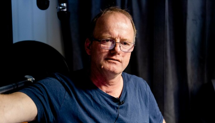 SNAKKER UT: Terje Leer ble smittet av corona og havnet i respirator. Nå snakker han ut om den tøffe tiden. Foto: Lars Eivind Bones / Dagbladet