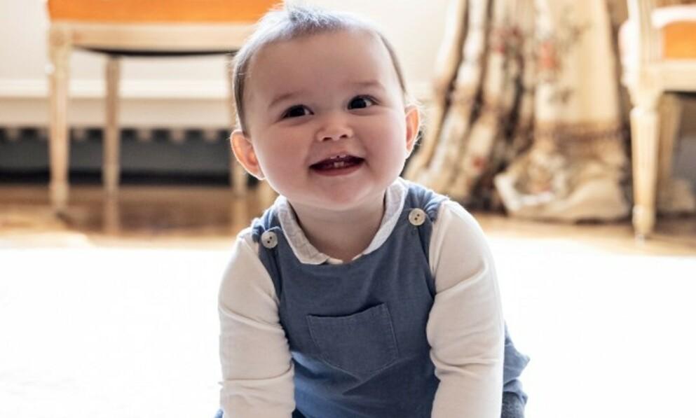 1 ÅR: Prins Charles av Luxembourg fylte 1 år mandag. Foto: Maison du Grand-Duc / Sophie Margue