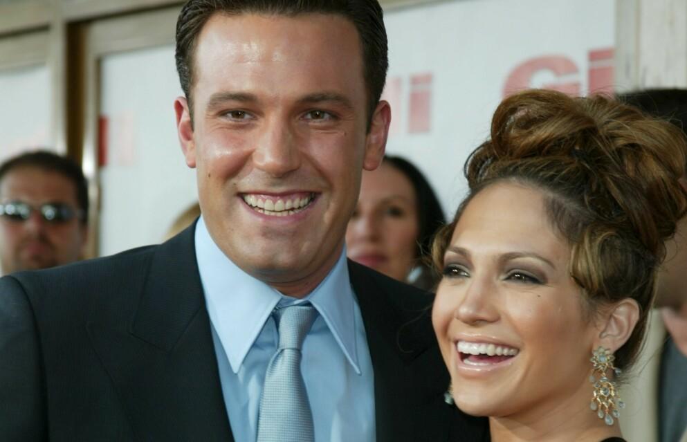 GJENFORENT: De siste ukene har det florert rykter om at Jennifer Lopez og Ben Affleck har funnet tilbake til hverandre. Nå uttaler også sistnevntes gode venn Matt Damon seg om romansen. Foto: Matt Baron/BEImages/NTB