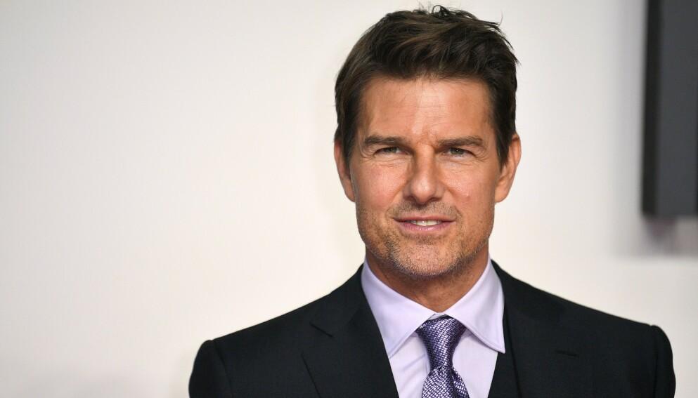 FORKLARING: Flere måneder etter at et lydopptak av en illsint Tom Cruise gikk viralt, forklarer han nå hva som skjedde. Foto: James Gourley / REX / NTB