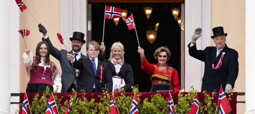 Slik blir kongefamiliens nasjonaldag