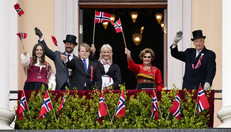 17. MAI: Onsdag ble den norske kongefamiliens planer for nasjonaldagen kjent. Foto: Lise Åserud / NTB