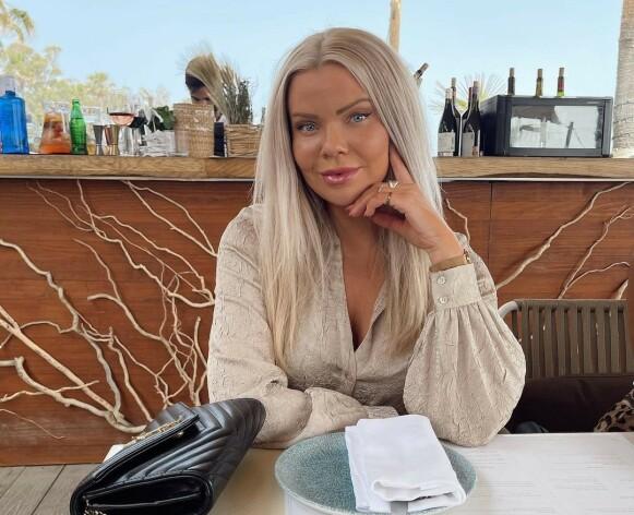 STORTRIVES: Julia Nyland forteller at hun stortrives i Marbella. Foto: Privat