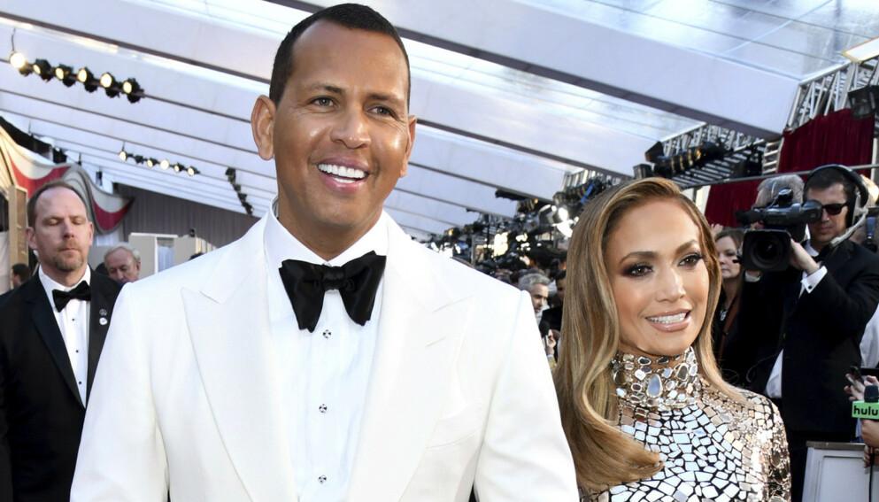 FÅ ORD: Alex Rodriguez har ikke mye å si om Jennifer Lopez og Ben Afflecks sammenkomster. Han holder likevel ikke helt munn. Foto: Charles Sykes / Invision / AP / NTB
