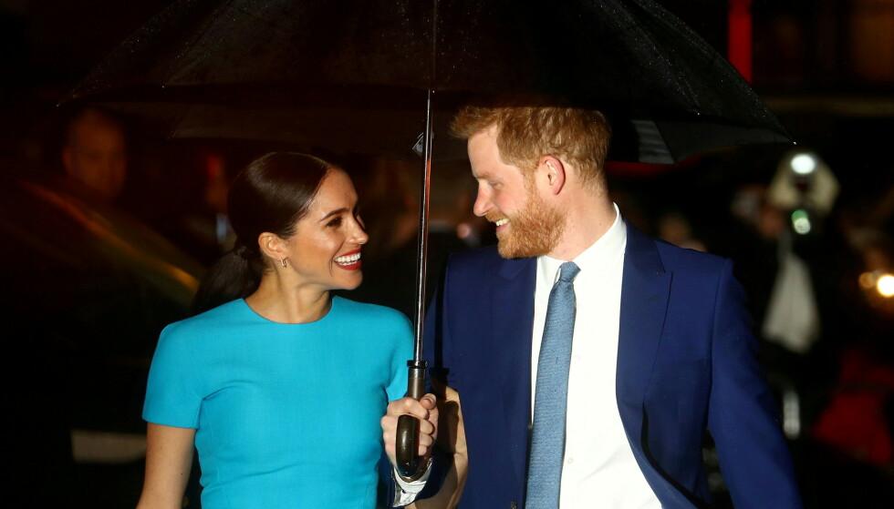 HEMMELIGE MØTER: Prins Harry avslører at han møtte Meghan flere ganger før forholdet ble kjent. Foto: REUTERS/Hannah McKay/File Photo/NTB
