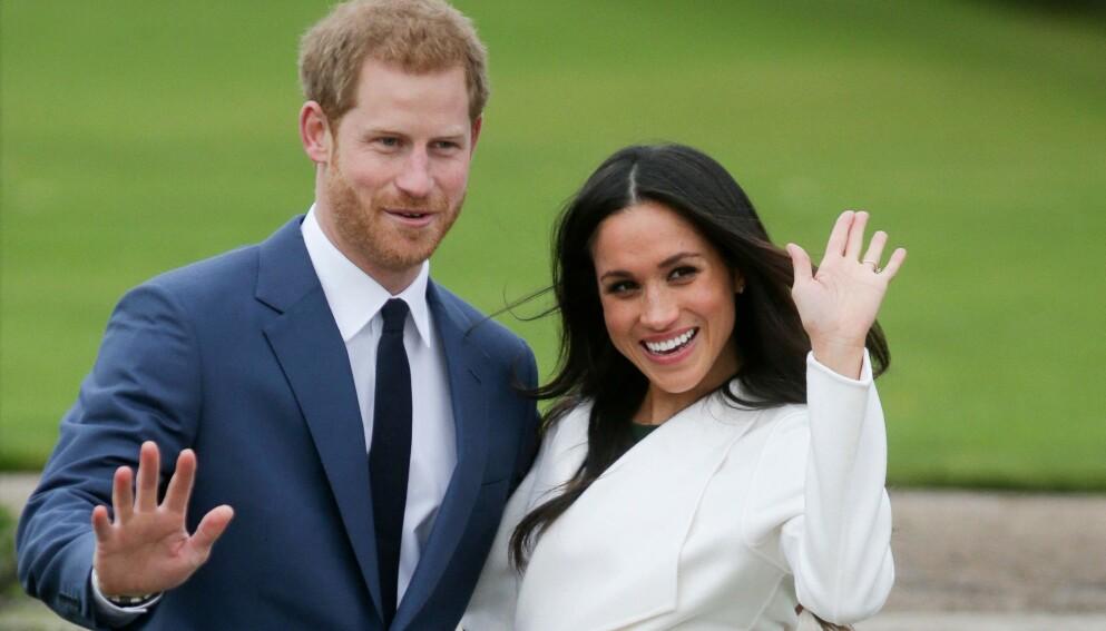 FORELDRE IGJEN: Prins Harry og hertuginne Meghan har fått sitt andre barn sammen - ei datter. Foto: Daniel LEAL-OLIVAS / AFP /NTB