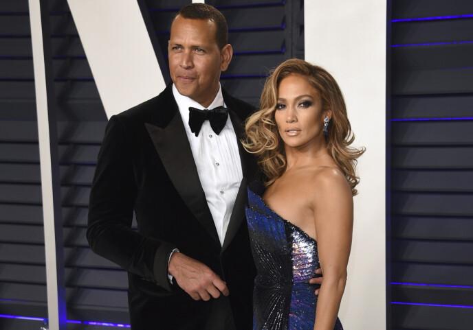 BRUDD: Alex Rodriguez og Jennifer Lopez brøt i april forlovelsen. Foto: Evan Agostini / Invision / AP / NTB