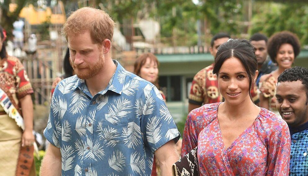 SPEKULASJONER: En kongelig eks mener ekteskapet mellom prins Harry og hertuginne Meghan ikke vil vare. Foto: Peter Parks/AFP/NTB