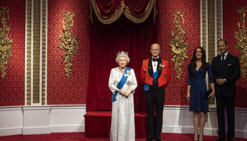 SEPARERT: Resten av den britiske kongefamilien står nå uten prins Harry og kona. Foto: Victoria Jones / PA via AP / NTB