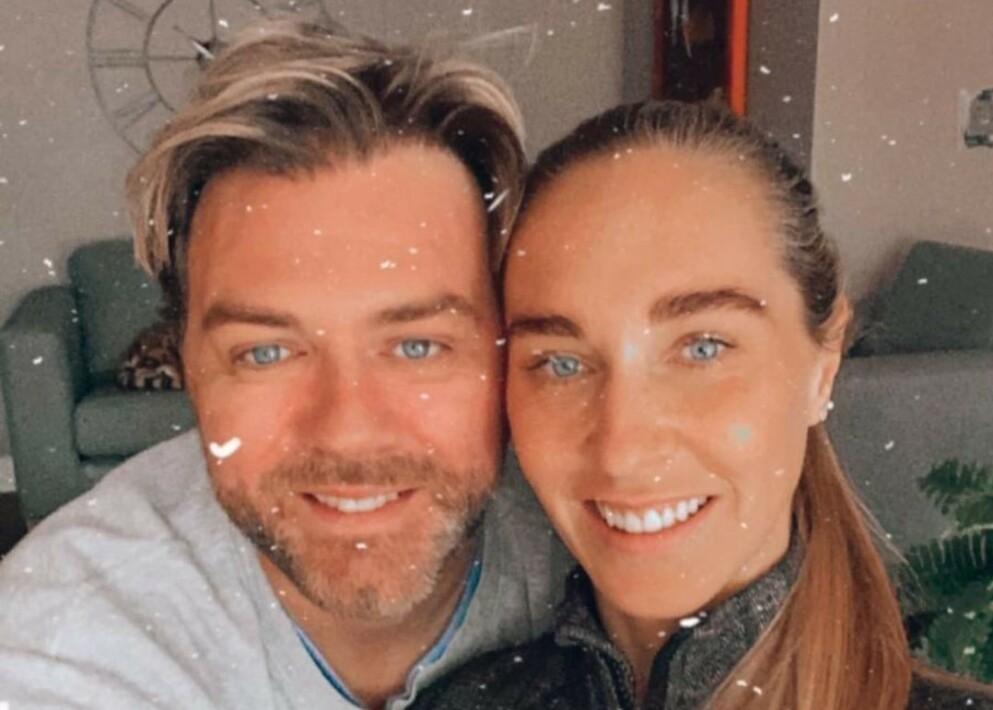 FORELDRE: Det tidligere «Westlife»-medlemmet Brian McFadden og forloveden Danielle Parkinson har fått sitt første barn sammen. Foto: Privat / Brian McFadden