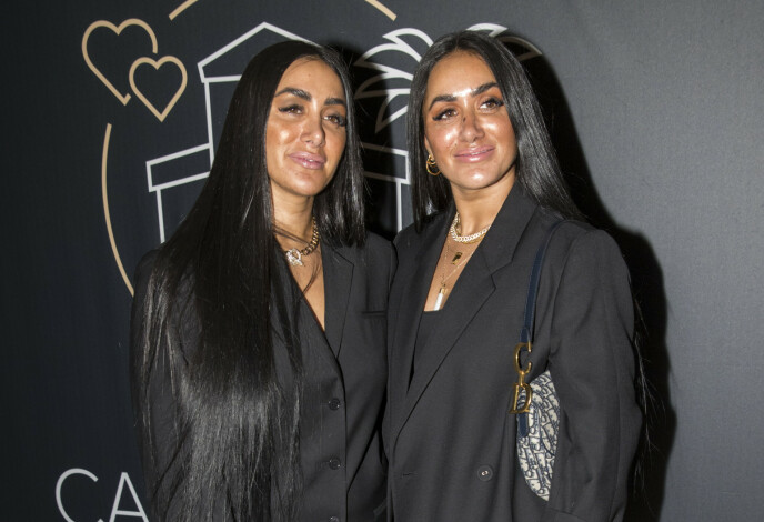 NÆRT FORHOLD: Tv-profilene Vita Mashadi og Wanda Mashadi nekter å bryte opp samboerskapet, selv om sistenevnte nylig fikk seg kjæreste. Foto: Terje Pedersen / NTB