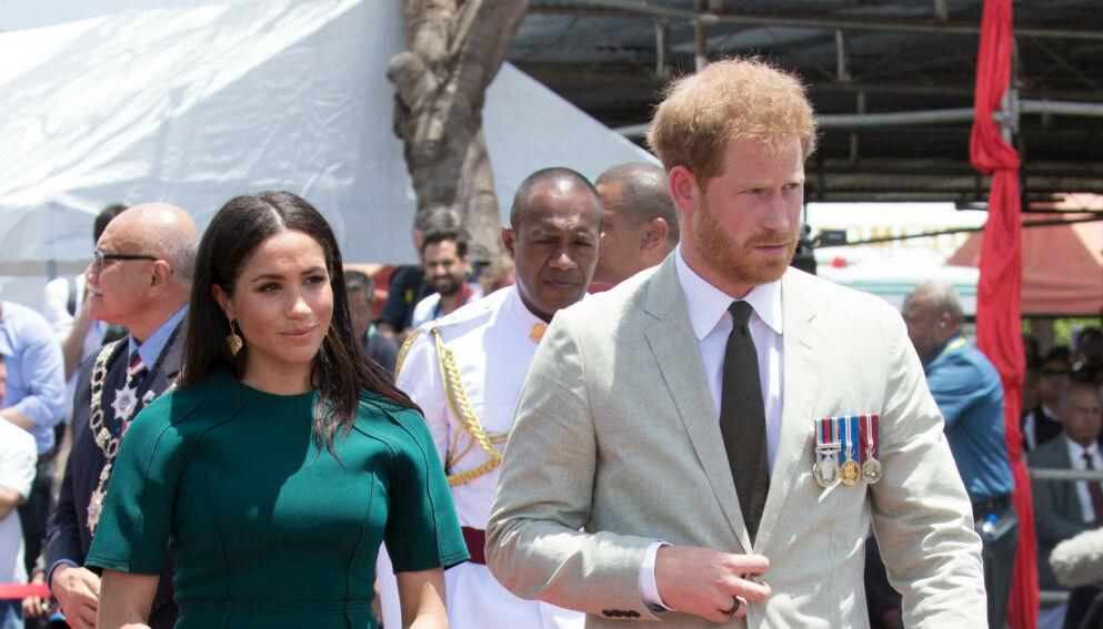 FÅR PASSET PÅSKREVET: Hertuginne Meghan og prins Harrys omtalelser av kongehuset har fått og får hard medfart. Foto: REX/NTB