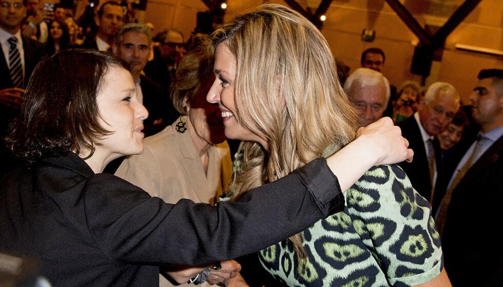 2016: Dronning Máxima og lillesøsteren i Buenos Aires i 2016. Foto: Utrecht Robin / Abacapress.com / NTB