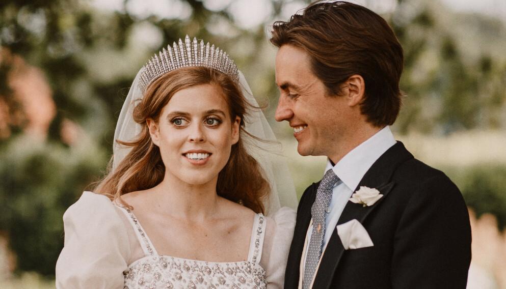 BLIR FORELDRE: Prinsesse Beatrice og ektemannen venter sitt første barn. Foto: Benjamin Wheeler / AP / NTB