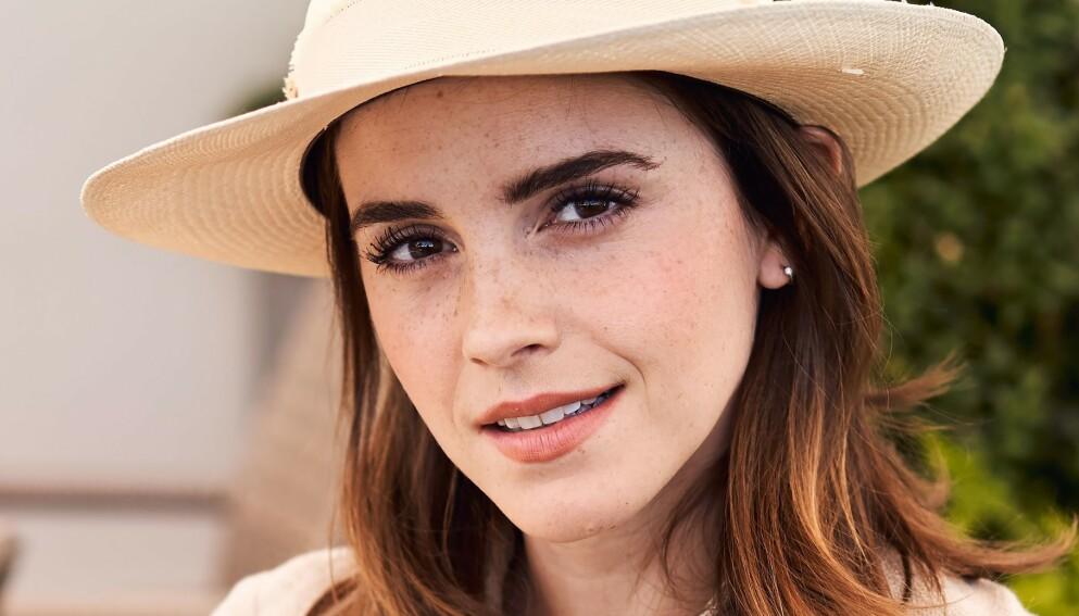 RYKTESTORM: De siste månedene har det blitt spekulert på om Emma Watson har forlovet seg. Dette sier hun selv. Foto: Chris Allerton / REX / NTB