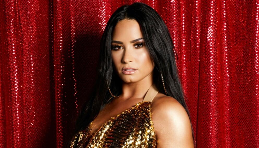 STÅR FREM: Demi Lovato valgte onsdag å stå frem som ikke-binær. Foto: Sara Jaye Weiss / REX / NTB