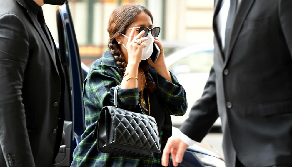 PÅ BENA IGJEN: Skuespilleren Salma Hayek var dødssyk. Foto: Splash News / NTB